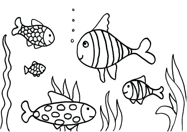 600x425 Fish Tank Coloring Page Coloring Pages Fish Tank Coloring Pages
