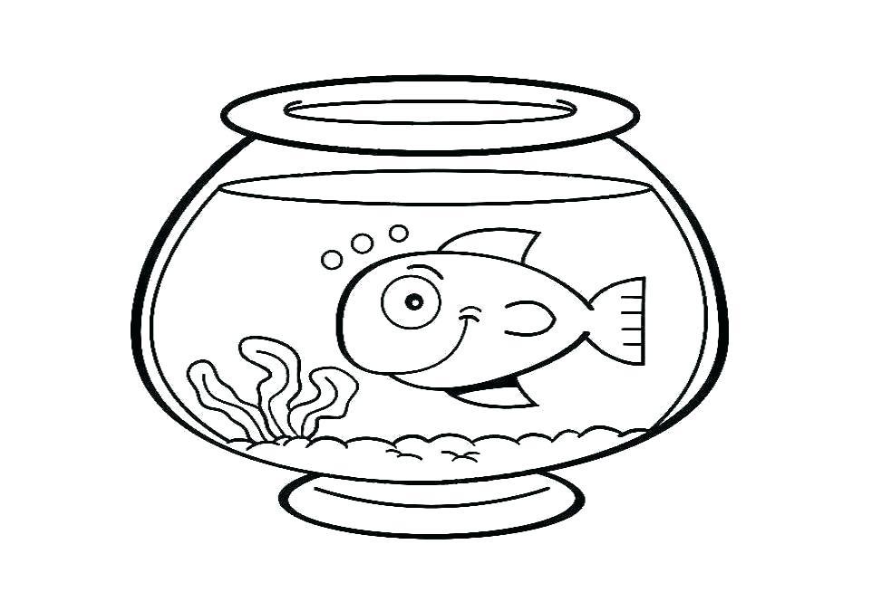 Fish Tank Drawing At Getdrawings Com Free For Personal