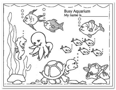 Fish Tank Drawing at GetDrawings | Free download