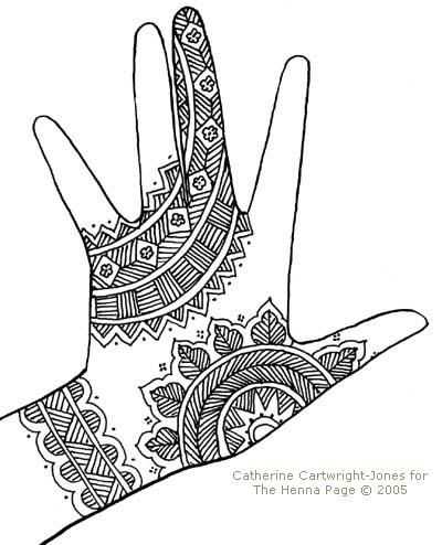 400x494 Fishbone Hands Henna Hennas, Henna Designs And Mehndi