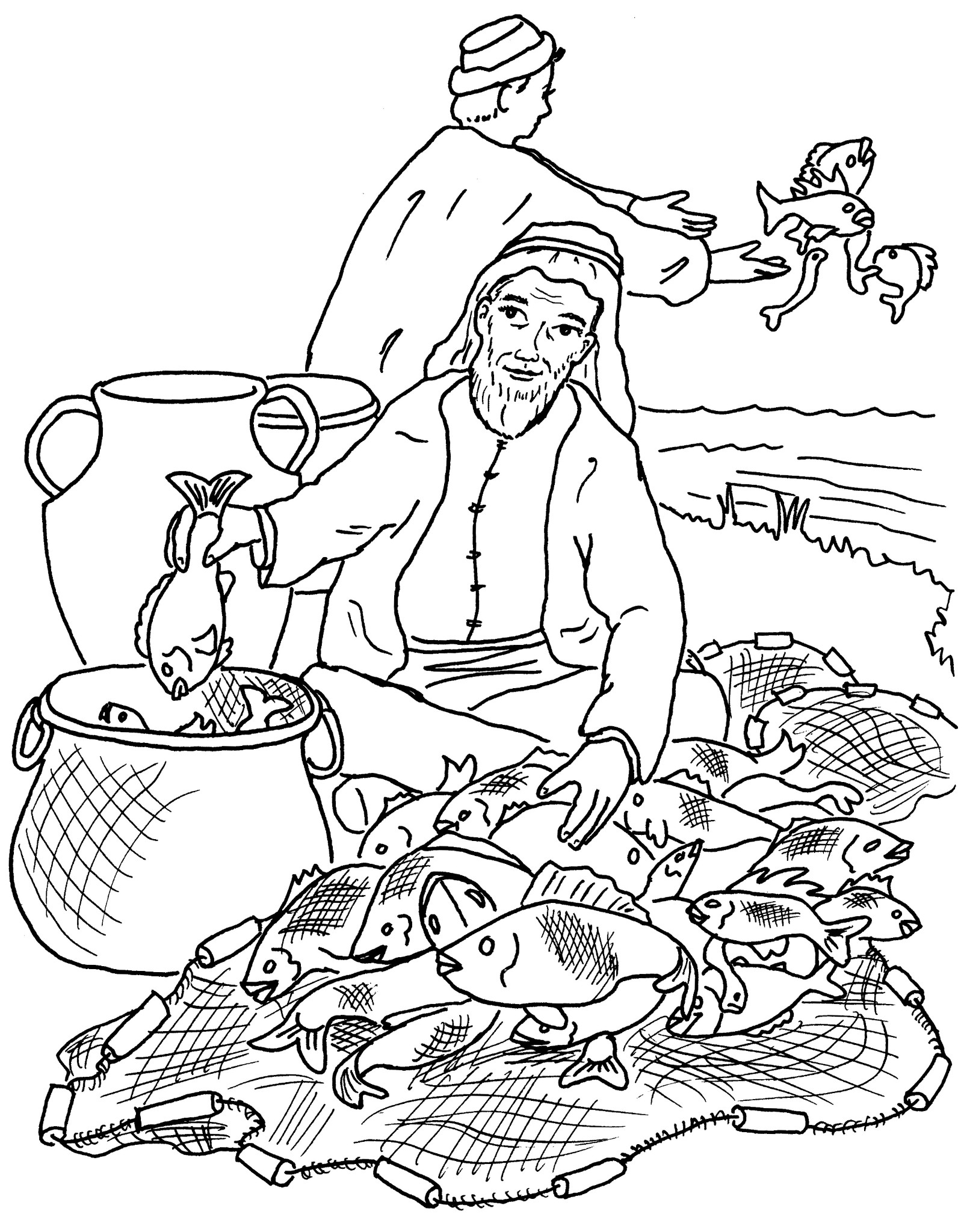 1602x2048 Fisherman