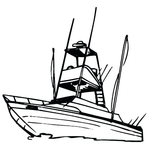 Cartoon Man No Fishing Boat Vector