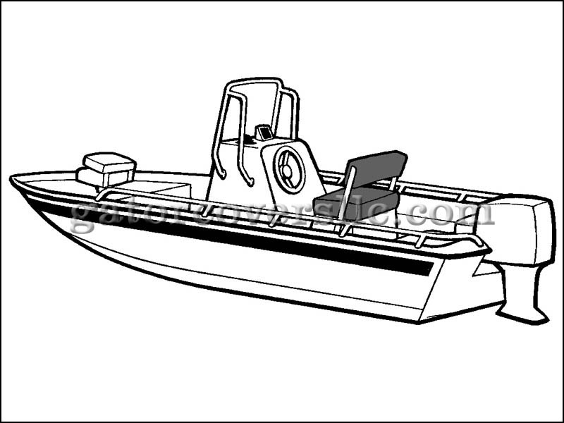 Fishing Boat Drawing