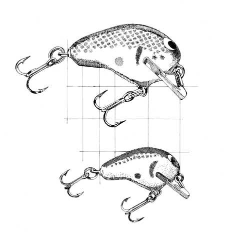 450x487 Drawings Of Fishing Lures
