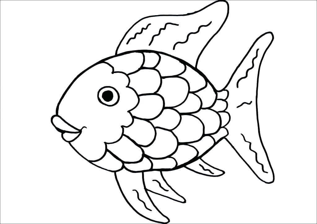 1024x724 Coloring Page Of Fish Fish Coloring Pages Coloring Pages Fishing