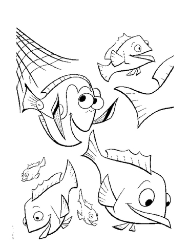 371x480 The Fishing Net Coloring Page Free Printable Coloring Pages