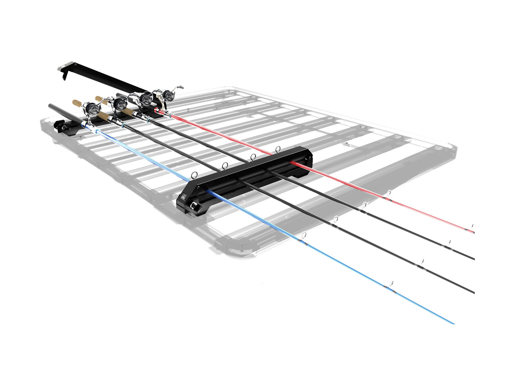 1024x768 Expedition Aluminium Roof Rack Ski, Snow Board Amp Fishing Rod