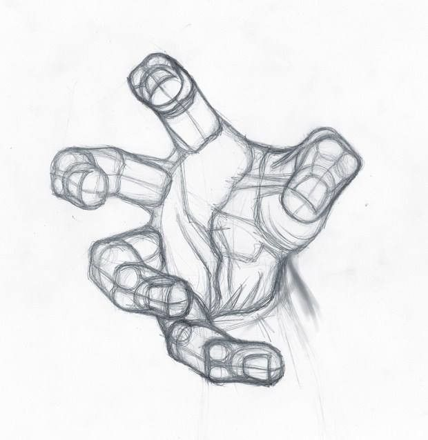 620x638 Best Drawing Fist Ideas On Hand Fist, How To Draw