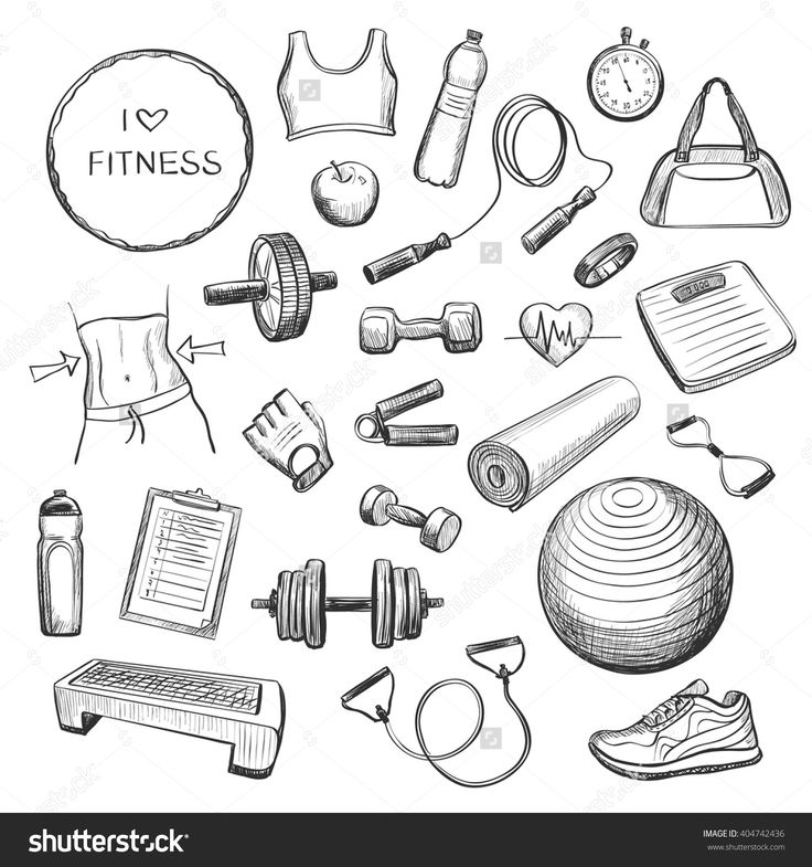 Fitness Drawing