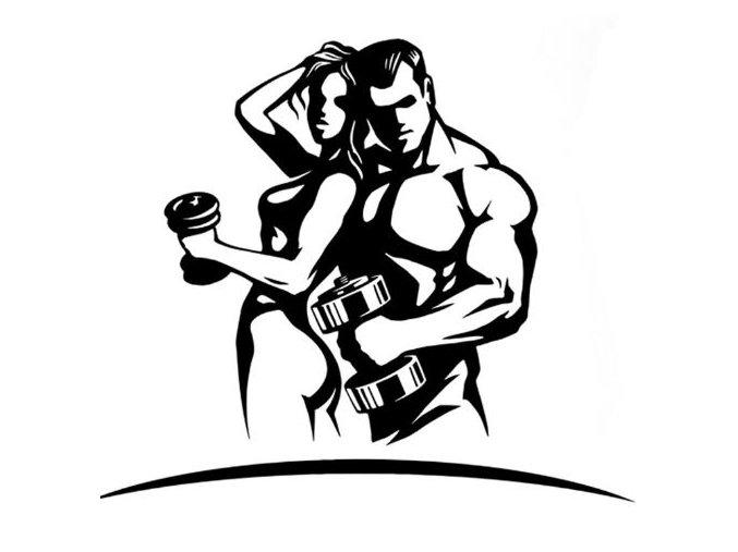 677x507 Fitness Couple Ii