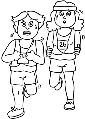 346x480 Fitness Coloring Page Free Printable Coloring Pages
