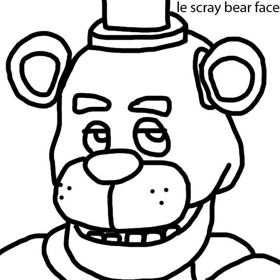 Five Nights At Freddys Drawing