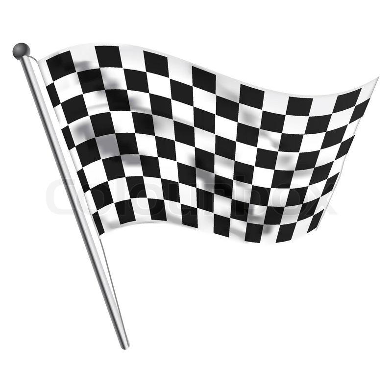 800x800 Illustration Of Race Flag Stock Vector Colourbox