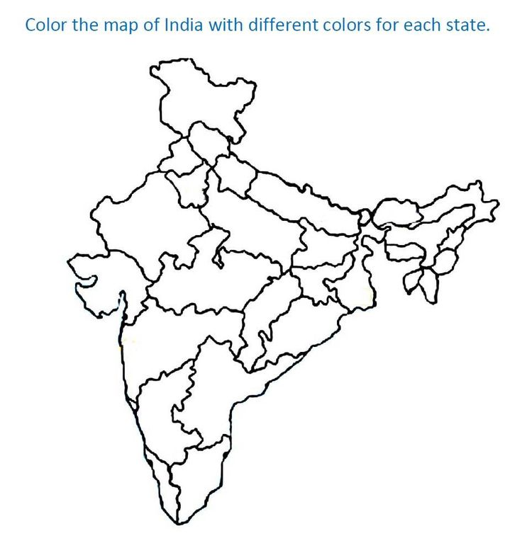 flag of india drawing