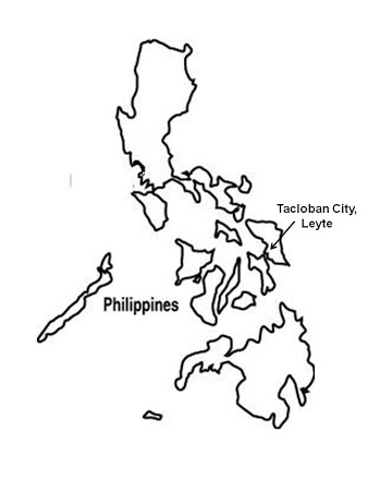 338x450 Philippines Map Easy Drawing