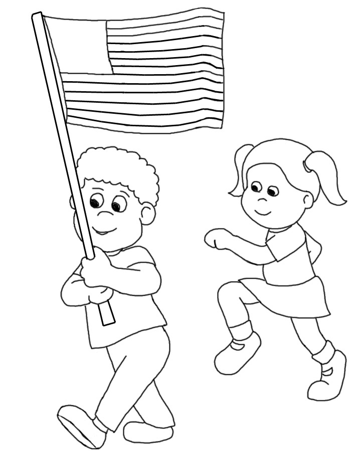 710x900 Independence Day Black And White Clipart