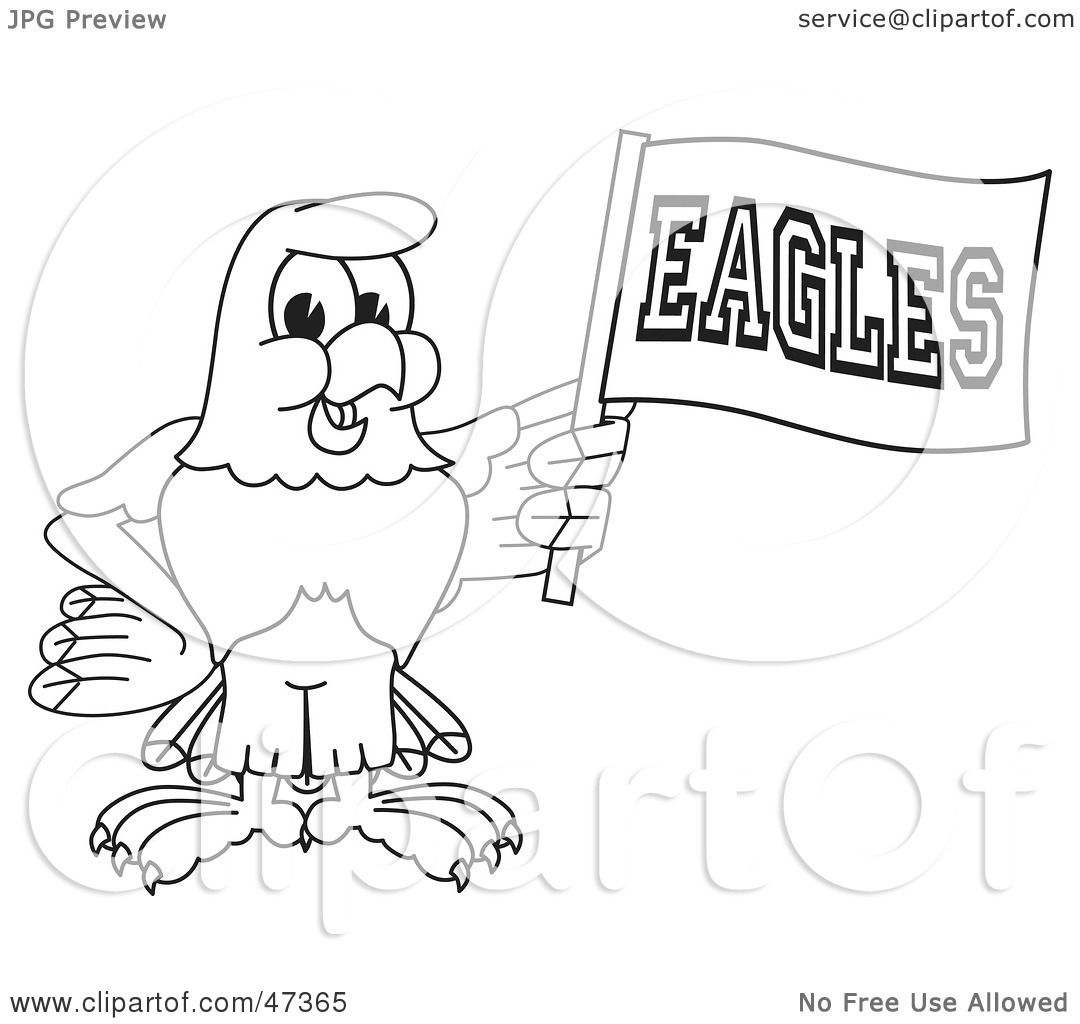 1080x1024 Royalty Free (Rf) Clipart Illustration Of A Bald Eagle Hawk
