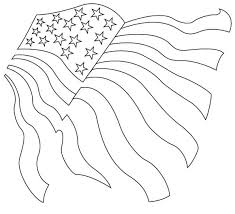 Flag Waving Drawing At Getdrawingscom Free For Personal Use Flag