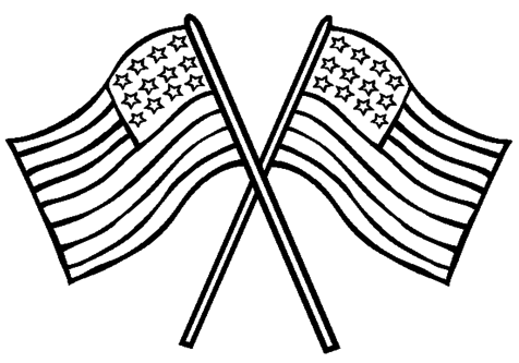 476x333 American Flag Coloring Sheet You Ever Wonder What Our Colors