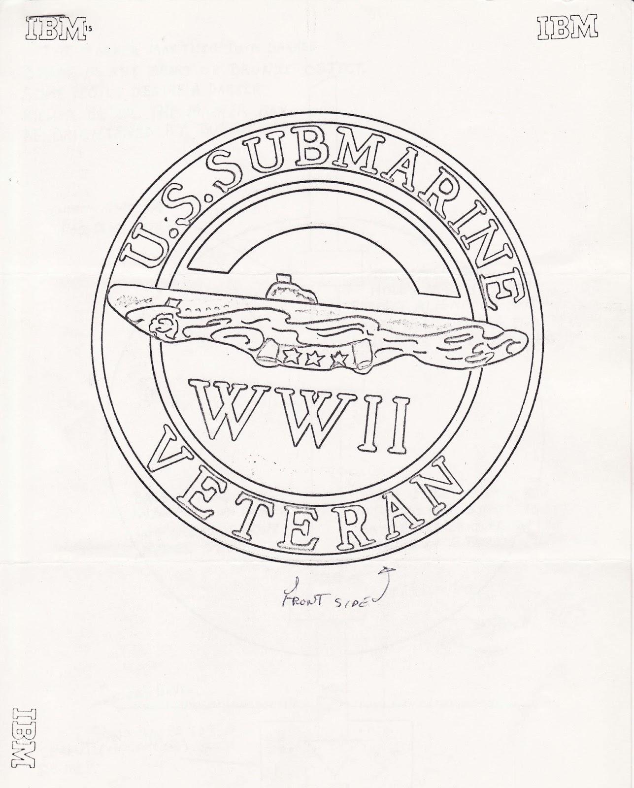 1287x1600 Grandpa's Navy Bronze Grave Marker For Us Navy Sub Vets