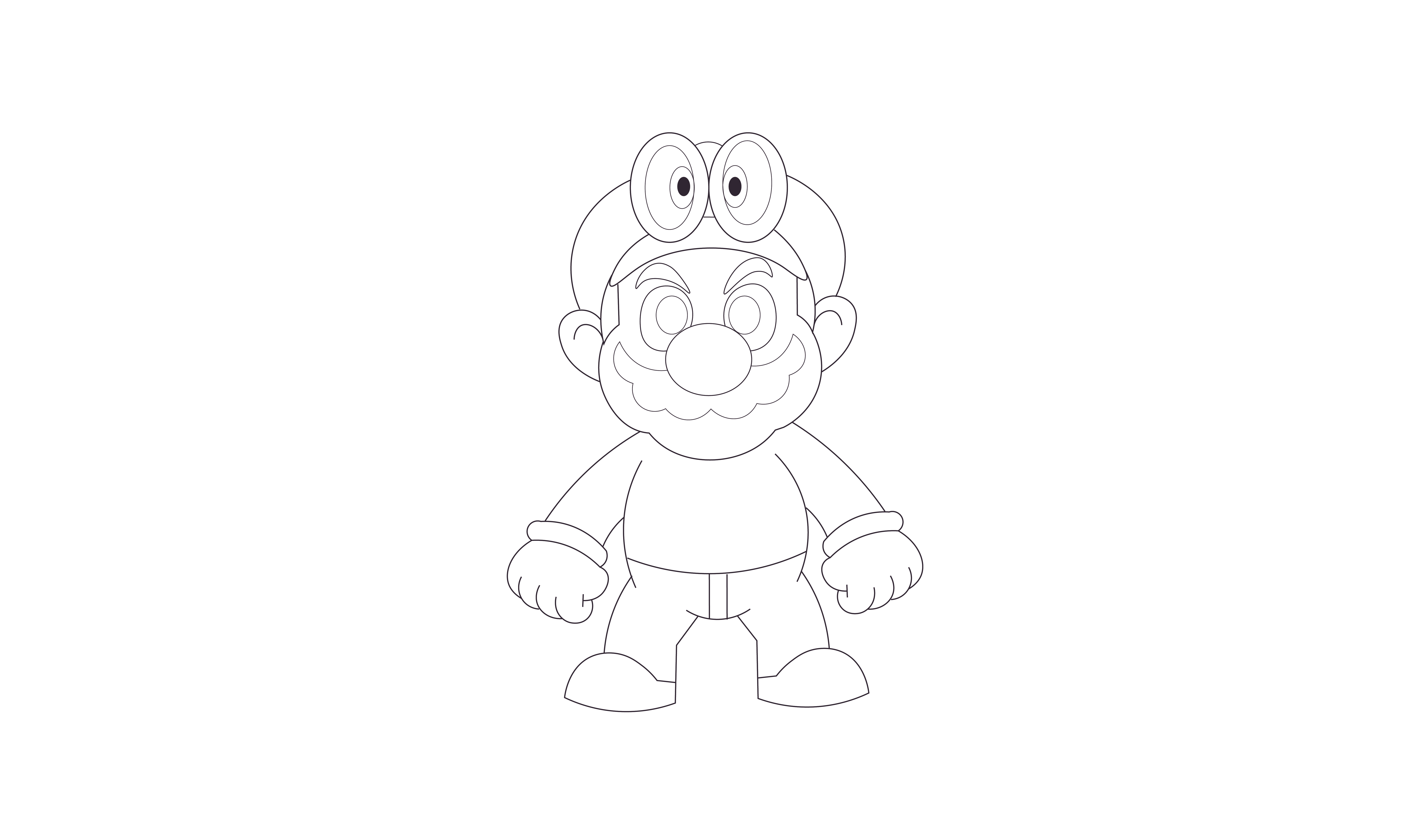 8192x4864 How To Draw Super Mario Odyssey Httpsyoutu.benf 9d4g0r4a How