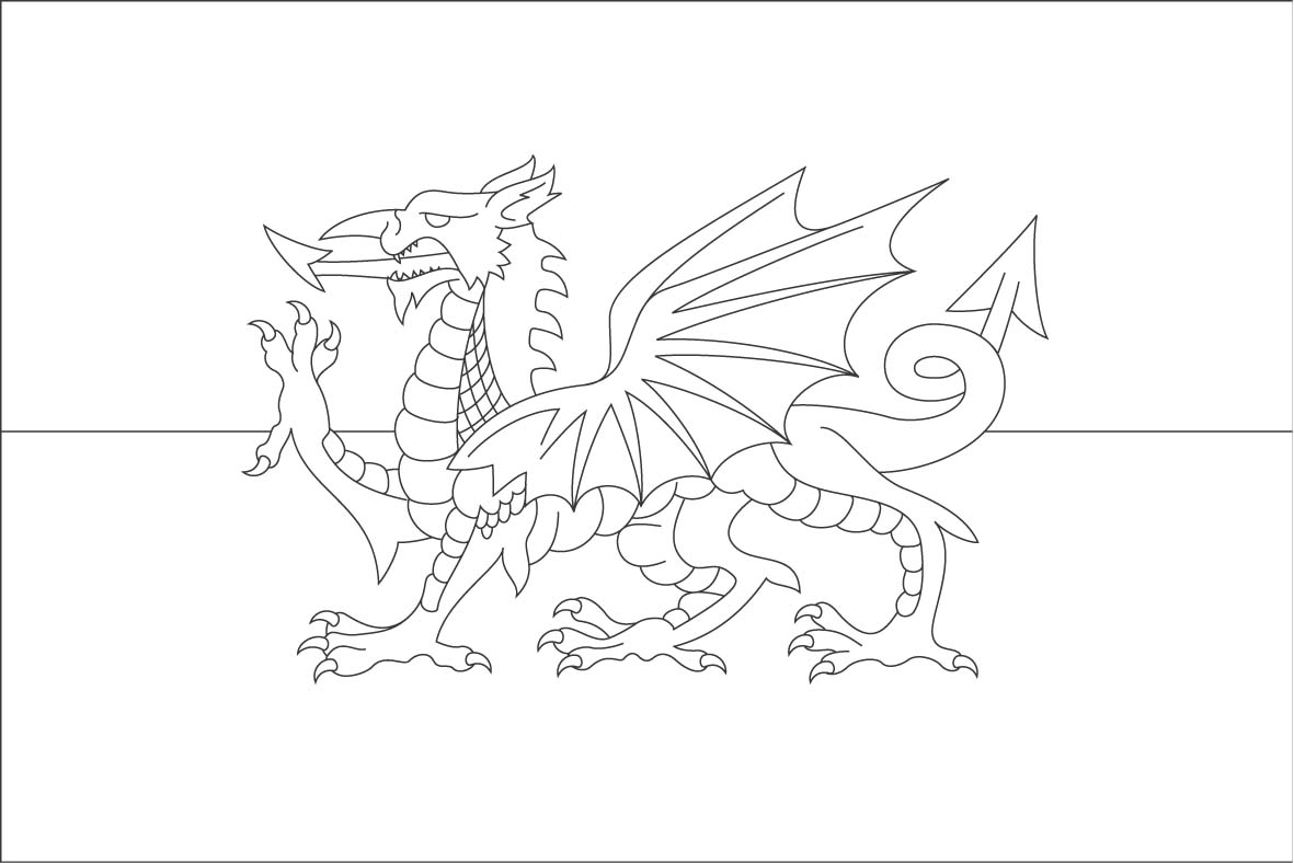 1181x788 World Flags Coloring Sheets 8