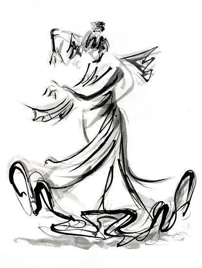 414x549 Flamenco Sketch Art Flamenco And Sketches