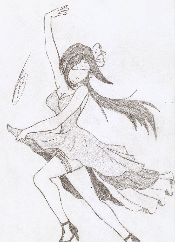 1024x1413 Girl Dancing Flamenco By Tato Kun92