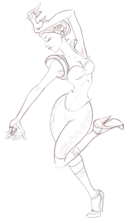 913x1500 Lainy's Art Blog Flamenco, Sort