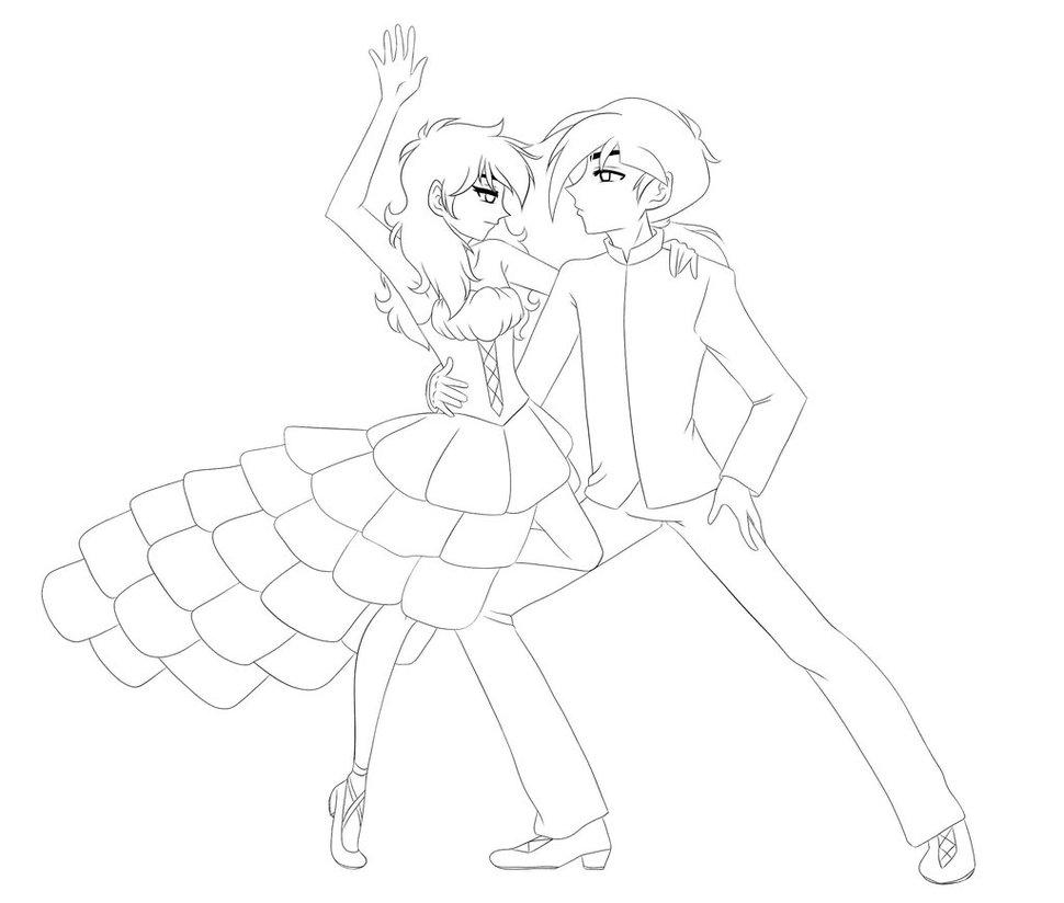 970x824 Pt Flamenco Sketch By Zerozeroren
