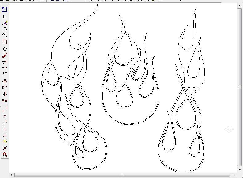788x577 Flame Designs In Cad. What Is Easiest
