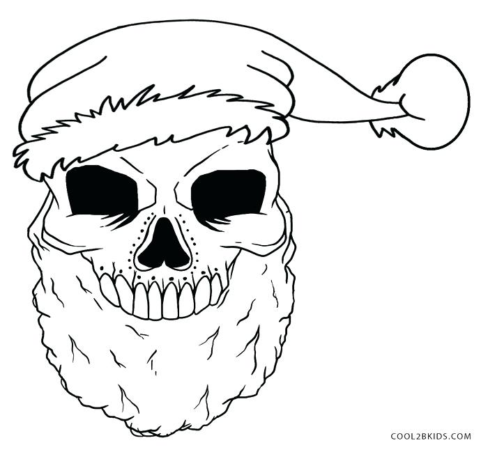 700x649 Good Flaming Skull Coloring Pages Online