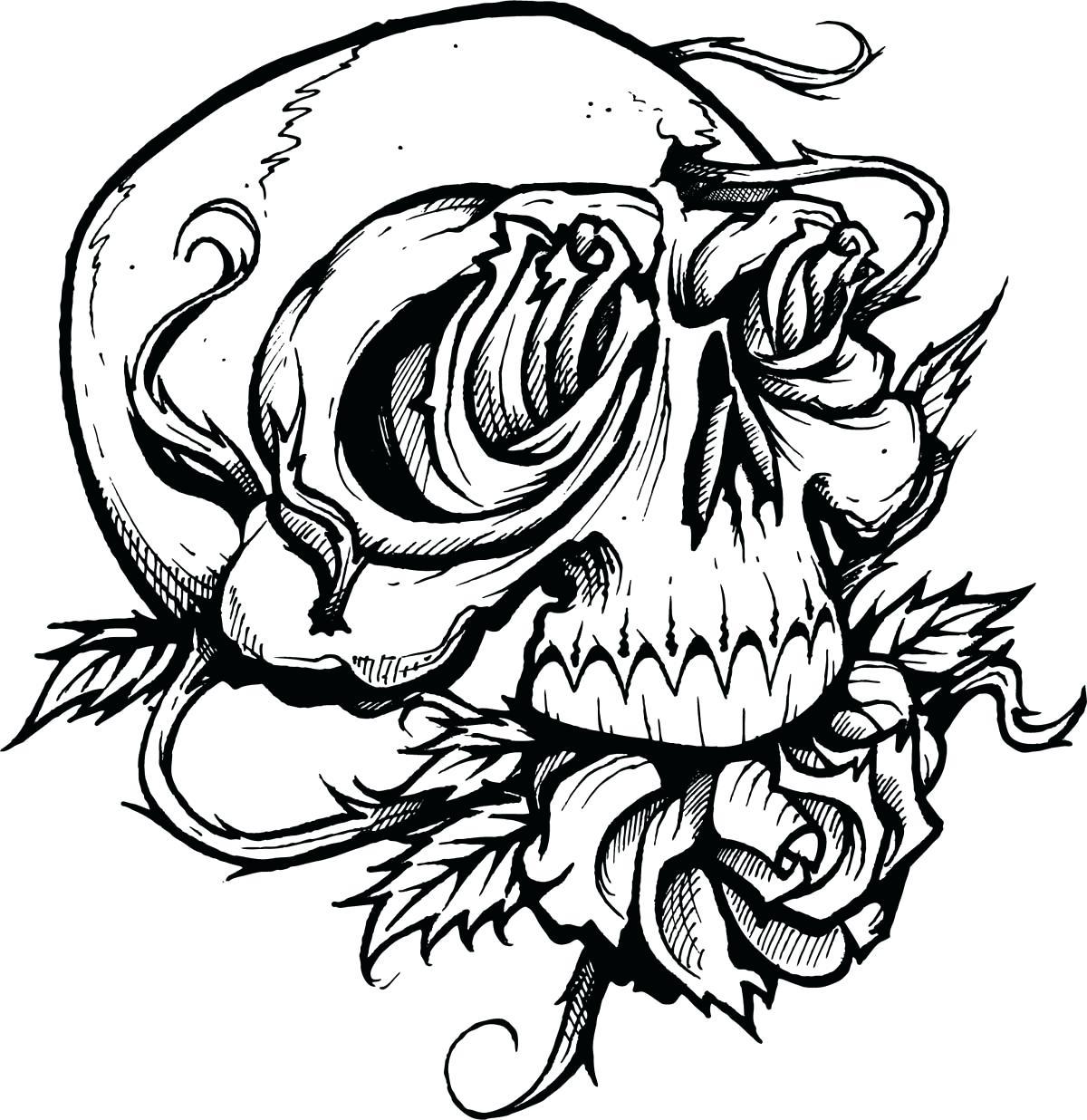 1200x1236 Printable Nautical Skull Drawing Printable Drawn Flames. Nautical