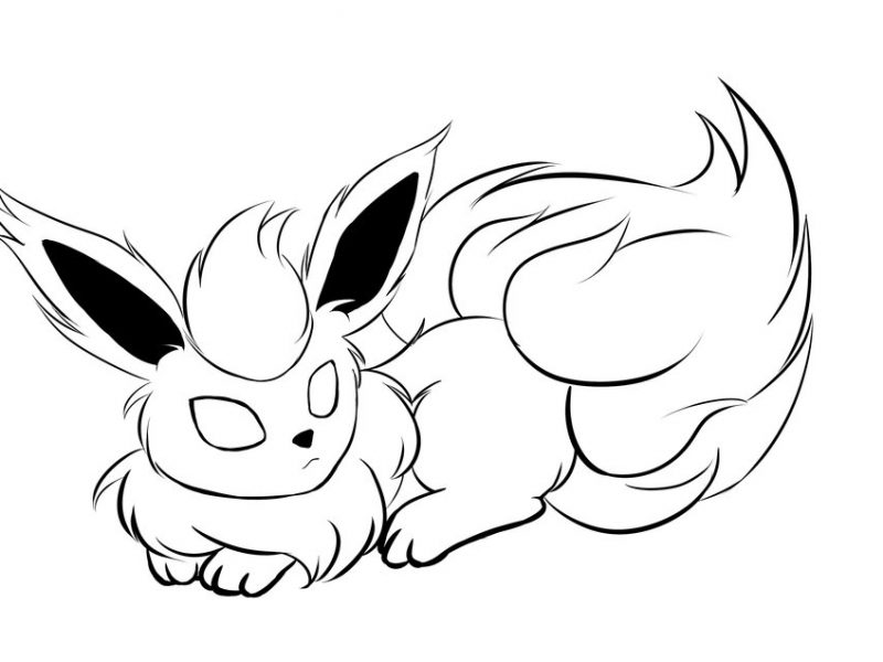 800x600 download pokemon coloring pages flareon