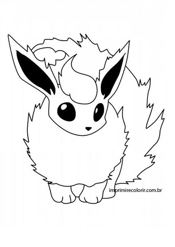 Flareon Drawing at GetDrawings | Free download