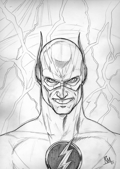 400x564 reverse flash by the penciler on deviantart