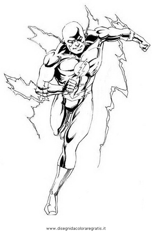 jay garrick flash coloring pages - photo#20