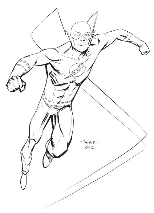 500x693 Flash Gordon Coloring Pages As Well Free