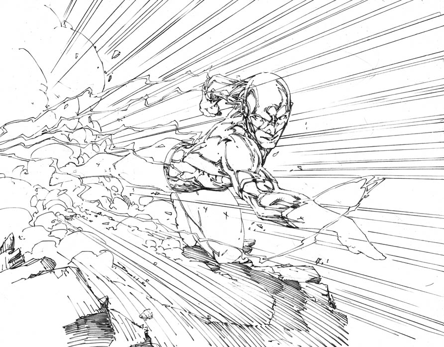 892x697 Demonpuppy's Wicked Awesome Art Blog A More Finished Wally West