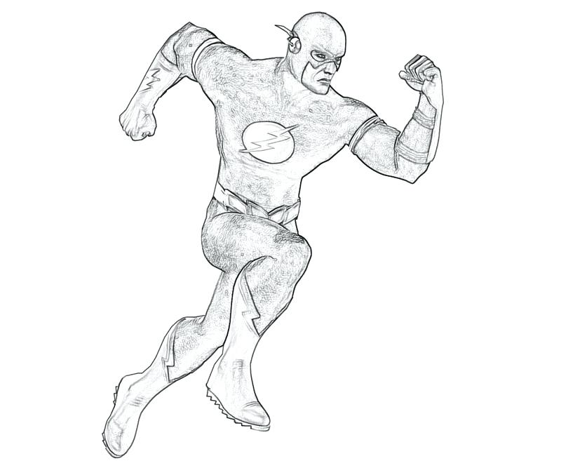 flash coloring pages marvel - photo#12