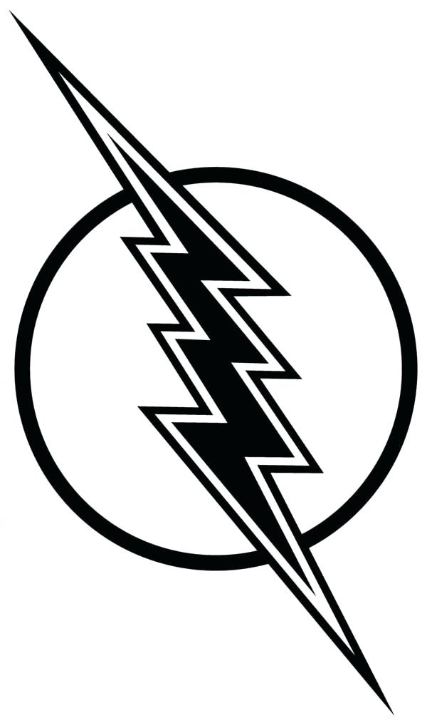 600x1014 Flash Coloring Logo Plus Flash Coloring Page The Flash Coloring