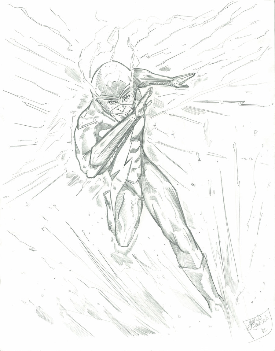 Flash Running Drawing at GetDrawings.com | Free for personal use ...