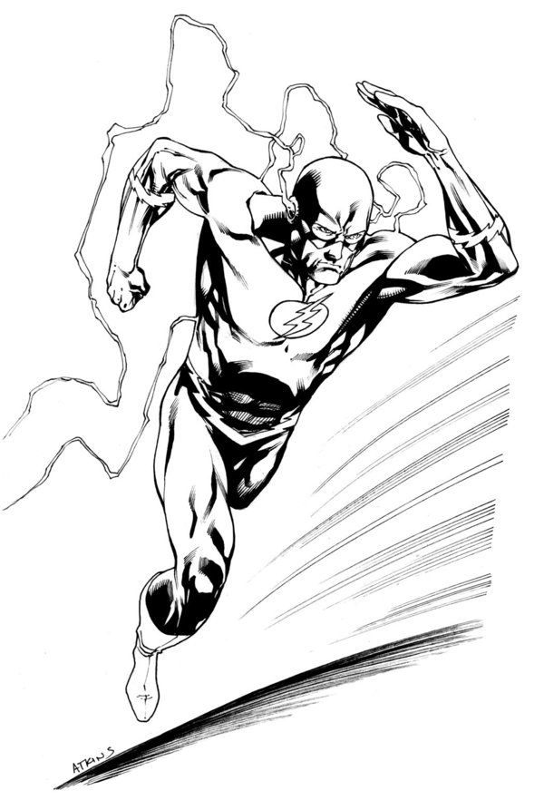 Flash Running Drawing At Getdrawings Com Free For