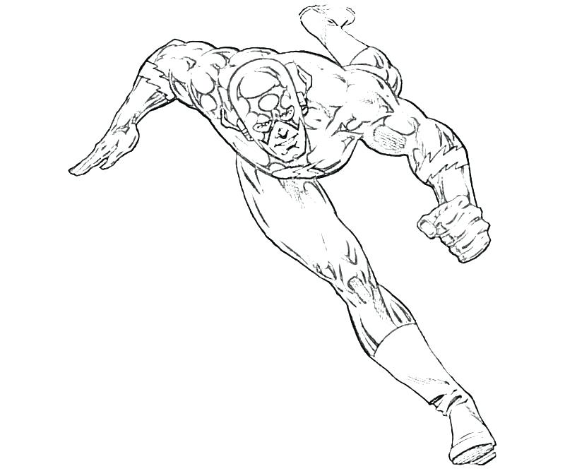 800x667 the flash running coloring pages and the flash running coloring