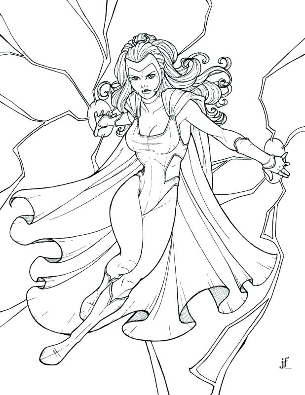 618x801 Free Superhero Coloring Pages And Remarkable Free Superhero