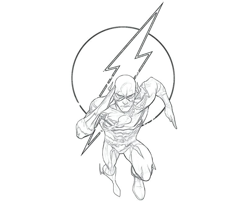 800x667 Kid Flash Coloring Plus Top Flash Superhero Coloring Pages Gallery