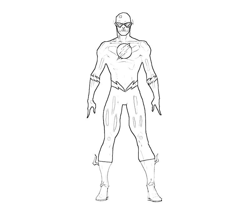 flash superhero drawing at getdrawings com free for personal use