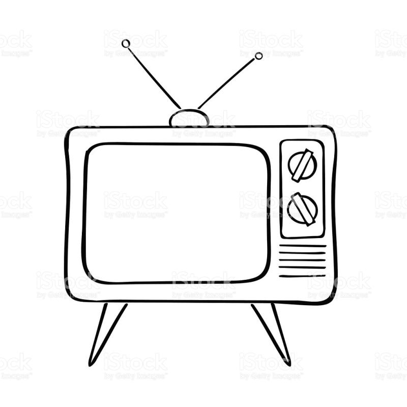 Flat Screen Tv Drawing at GetDrawings com | Free for personal use