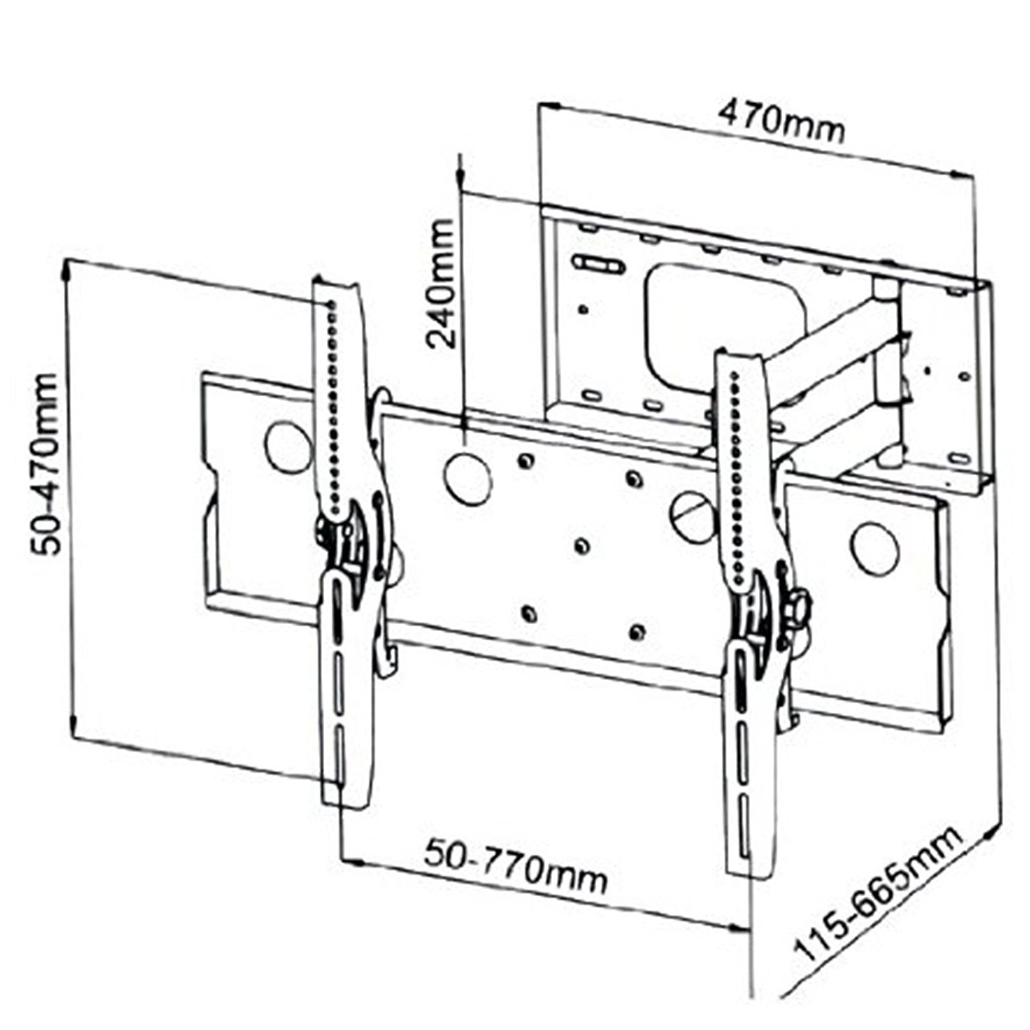 Flat Screen Tv Drawing At Free For Personal Use Draw Circuit Diagram 1500x1500 2xhome New Wall Mount Bracket Single Arm