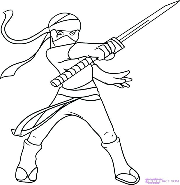 618x634 Flat Stanley Coloring Page Ninja Coloring Page Enchanting